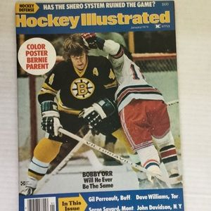 Other - Hockey Illustrated Magazine January 1976.